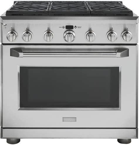36 gas range monogram 36 quot all gas professional range with 6 burners