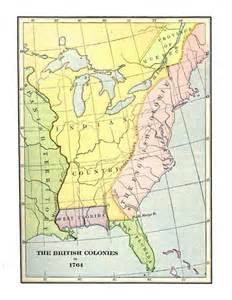 colonial america map colonial web