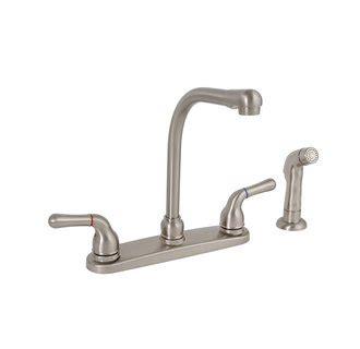 premier 120197lf sanibel brushed nickel two handle kitchen faucet no sprayer ebay premier 120171lf sanibel lead free two handle kitchen