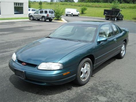 manual cars for sale 1998 chevrolet monte carlo engine control purchase used 1998 chevrolet monte carlo z34 coupe 2 door 3 8l nascar edition leather interio
