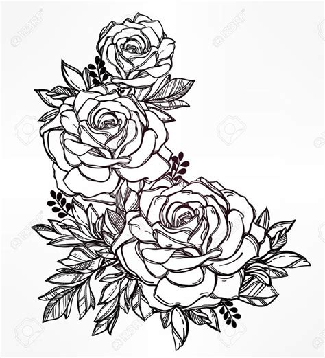 tattoo flower drawn best 25 flower drawings ideas on pinterest flower