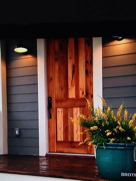 this wooden door i saw on hgtv s fixer welcome black barn the white