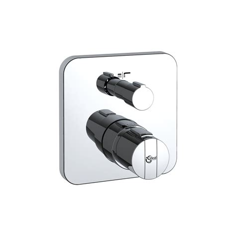 Built In Mixer Shower by Ideal Standard A5620 Thermostatic Bath Shower