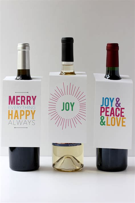 printable gift tags for wine bottles alice and loisholiday wine bottle gift tags free printable