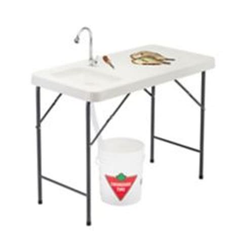 Folding Table Canadian Tire Folding Fish And Cleaning Table Canadian Tire