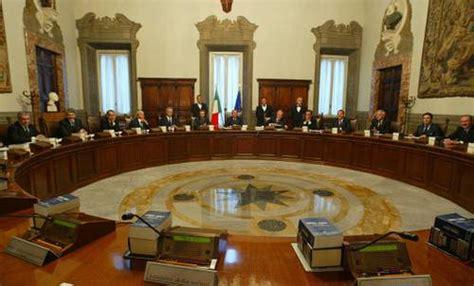 news consiglio dei ministri consiglio dei ministri sul tavolo la riforma della