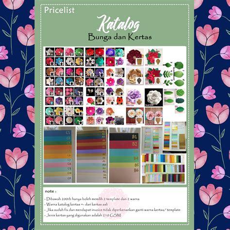 Khazuna Paket Hemat Paper Flower A enno s world pricelist paper flower surabaya