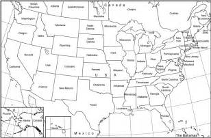blank map of the united states to print images