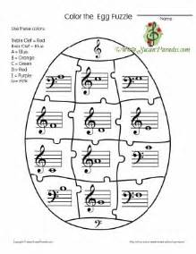 Galerry music theory coloring sheets