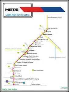 Seattle Light Rail Map Pdf by The Houston Light Rail System