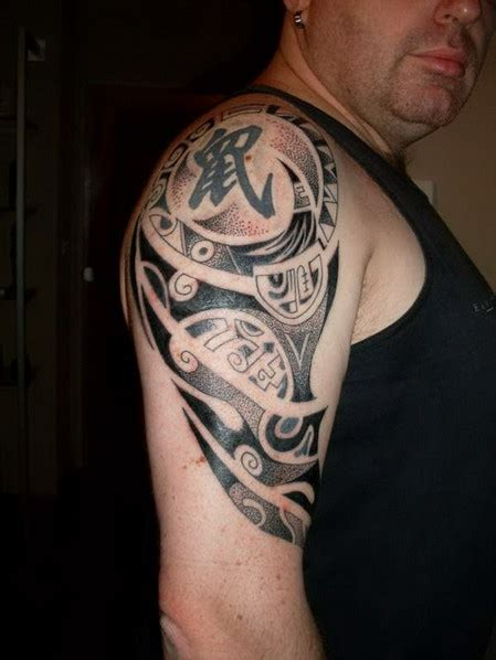 tattoo on arm for man upper arm tattoos for men designs ideas and meaning