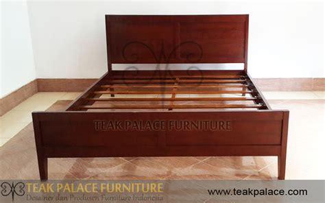 Ranjang Kayu Ukuran 160x200 dipan murah minimalis kayu jati ruang tidur murah