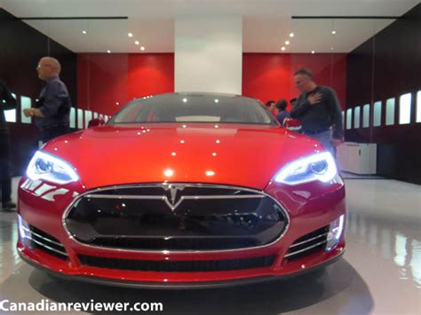 tesla motors opens second dealership in toronto showcases