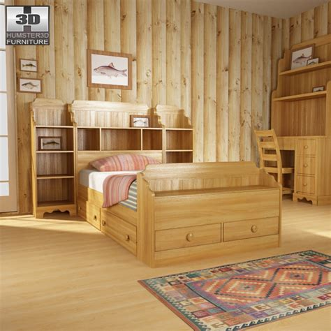 3d bedroom sets bedroom furniture 13 set 3d model hum3d