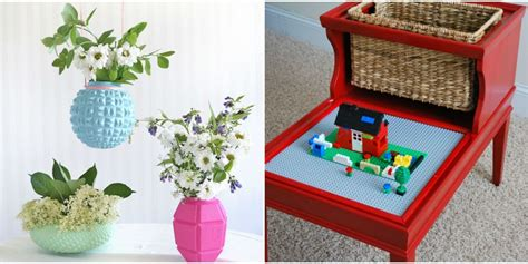 home craft projects upcycled home projects repurposed diy ideas