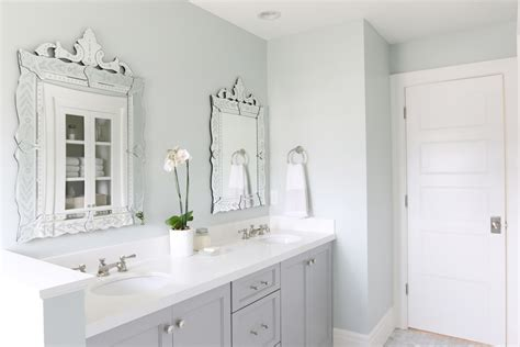 White Cabinet Bathroom Ideas by The Midway House Guest Bathroom Studio Mcgee