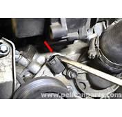 Mercedes Benz W203 Coolant Temperature Sensor Replacement