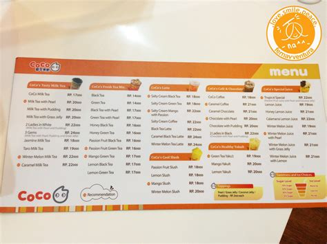 coco jakarta menu fernaventura ferna s adventure in food and what goes