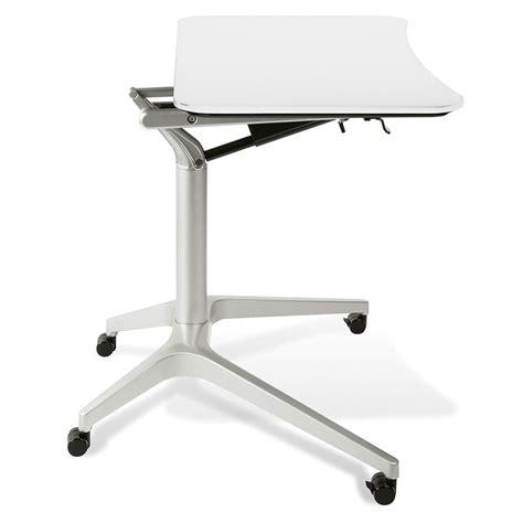 Laptop Desk White Workpad Modern White Adjustable Laptop Desk Eurway