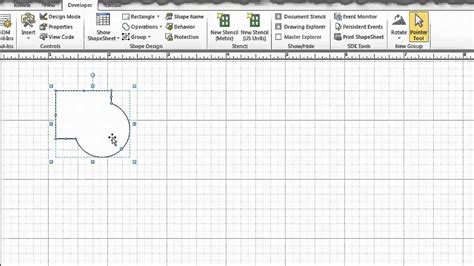 create visio shape advanced shapes in visio