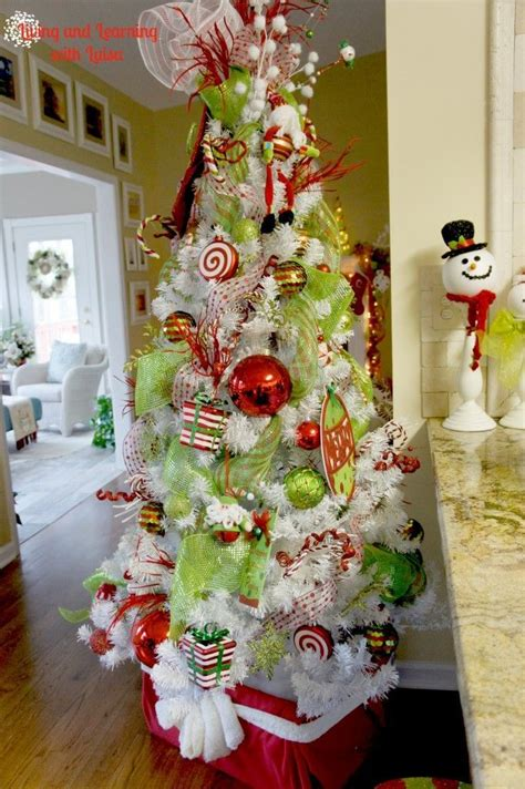 tematicas para decorar en navidad mejores 53 im 225 genes de 193 rboles de navidad blancos en