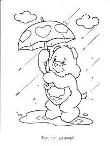 care bears coloring pages free printable care coloring pages for