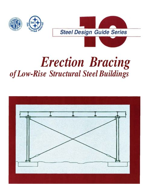 design guidelines mulgoa rise erection bracing of low rise structural steel buildings