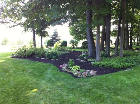 black mulch gardening flowers pinterest