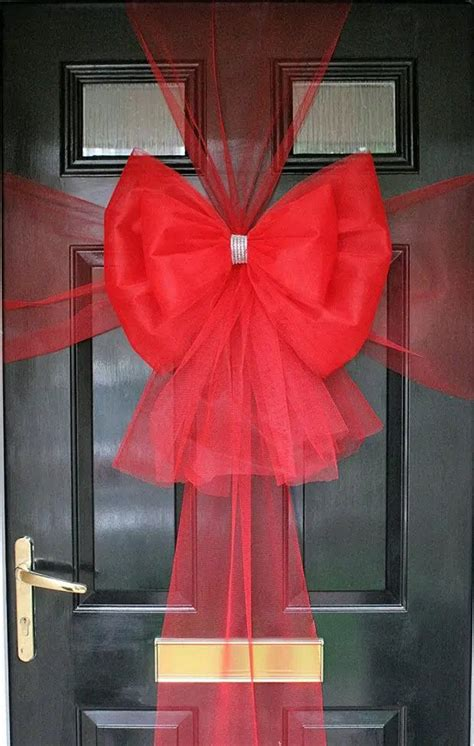 How To Make A Large Bow For Front Door