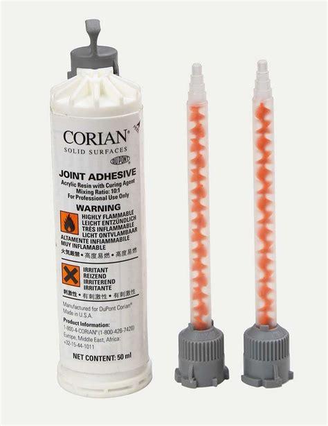 corian adhesive corian 174 joint adhesive anthracite