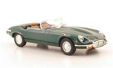 Yatming Jaguar jaguar type e 1971 miniature roadster verte yat ming 1 43 voiture miniature