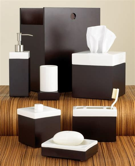 Hotel Collection Quot Standard Suite Quot Bath Accessories Modern Bathroom Sets