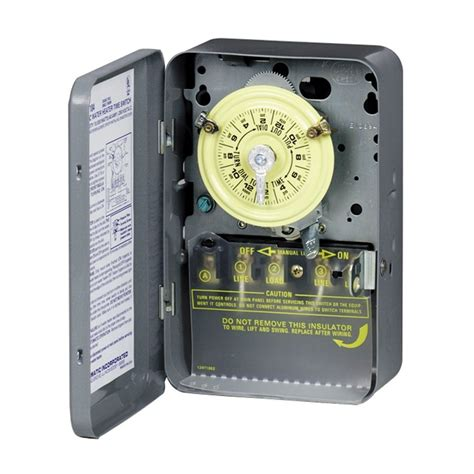 Outdoor Electrical Timers For Lights Intermatic Mechanical Residential Hardwired Timer Lowe S Canada