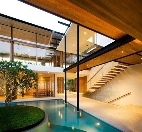 singapore house design environmentally friendly modern tropical house in singapore idesignarch interior