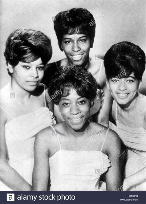 the chiffons the chiffons us vocal group about 1962 stock photo