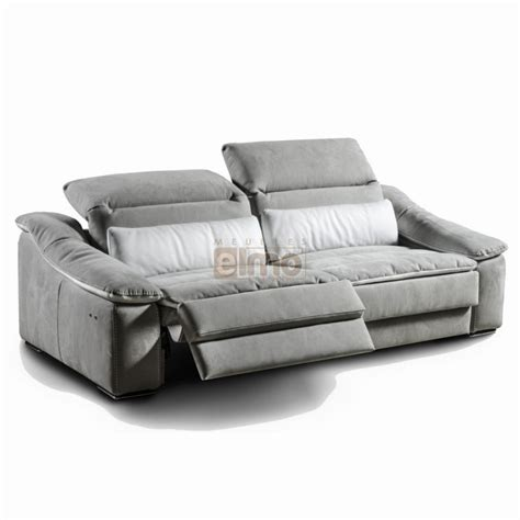 canape relax microfibre canap 233 relaxation italien t 234 ti 232 res relevable cuir