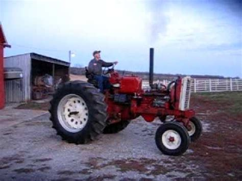 farmall  puller project engine run time youtube