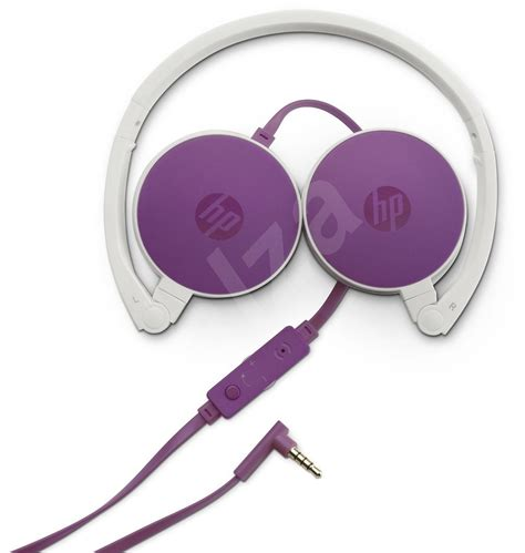 Headset Hp H2800 Hp Stereo Headset H2800 Purple Headphones With Mic Alzashop