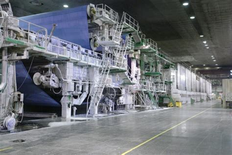 Paper Machine - mondi syktyvkar pulp and paper mill modernisation komi