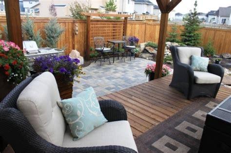 Backyard Ideas Calgary Outdoor Retreat Calgary Alberta Modern Landscape