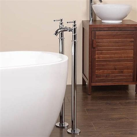 standing water in bathtub 17 best images about freestanding and wall mounted bath