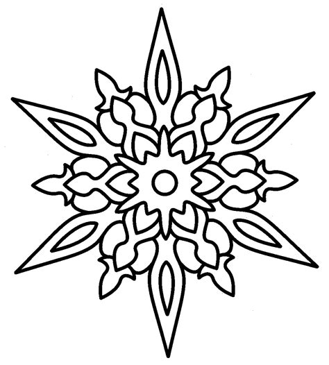 advanced snowflake coloring pages free coloring pages of snowflake patterns