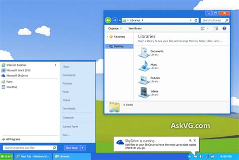download free windows 8 theme for xp in one click techalltop download windows 8 metro ui inspired windows xp quot luna