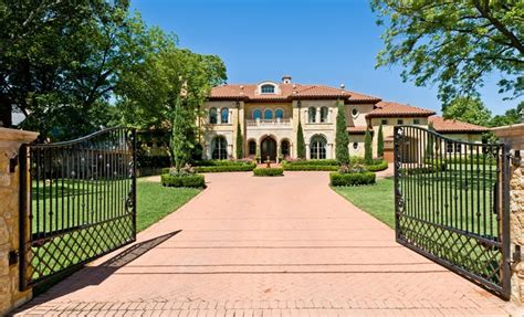 9000 square feet gated estate on strait lane features 9 000 square feet of