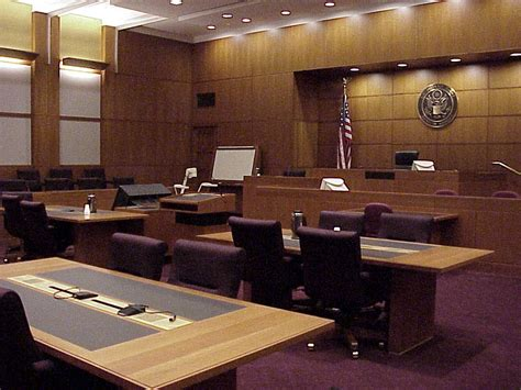 court room the downward spiral another sign of the states in distress overloaded court systems