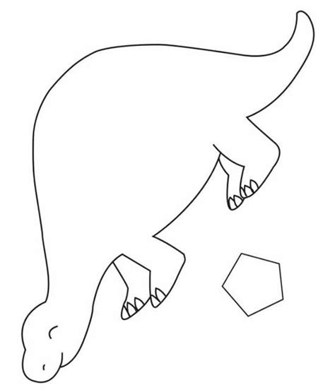 dinosaur cut outs coloring page bilingual programs chapter tslac