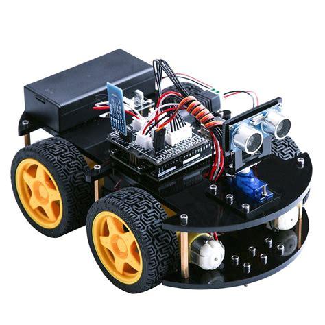 elegoo uno project upgraded smart robot car kit  uno   tracking module ultrasonic
