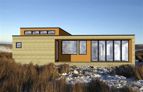 small contemporary prefab home hive modular owner