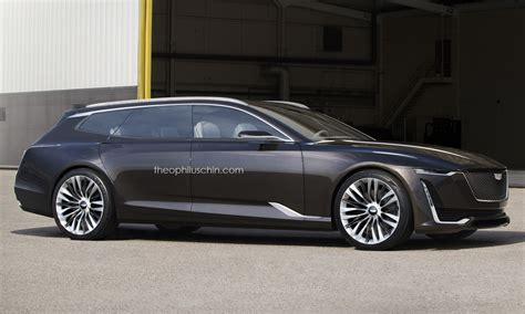 2019 Cadillac St4 by Cadillac Escala Wagon Concept Would Make The Audi Prologue