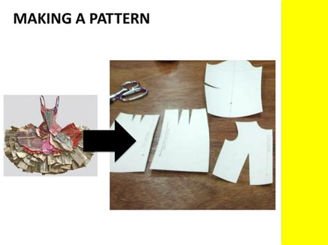 pattern making resources ks4 textiles making a pattern by lejlakevric teaching